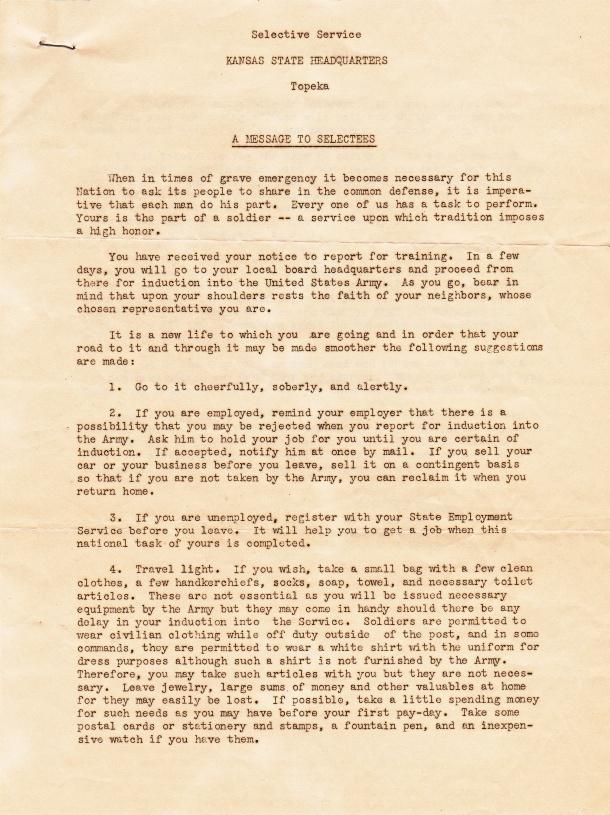 Draft Notice