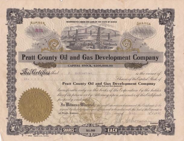 Pratt County Oil