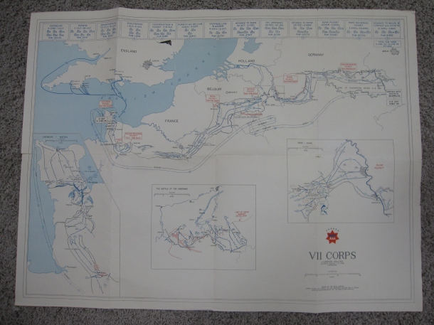The map Dad carried.